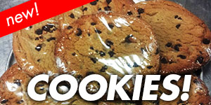 Cookies - Now available at Fun House Pizza Lee's Summit