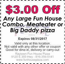 $3.00 off any Combo, Meateater, Special, August 2017