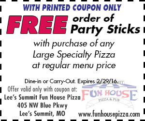 Free order of Party Sticks