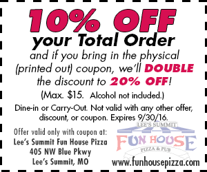 Coupons For Fun House Pizza